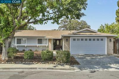 Clayton, Concord, Pacheco, Pleasant Hill, Walnut Creek Single Family Home New: 1867 Elkwood Dr