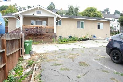 Oakland Single Family Home New: 2938 76th Ave