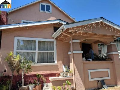 Oakland Single Family Home New: 2711 79th Ave