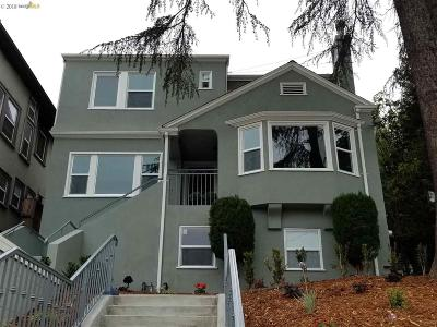 Oakland Single Family Home For Sale: 581 Valle Vista Ave