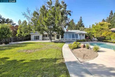 Alamo CA Single Family Home For Sale: $1,549,000