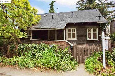 Berkeley Single Family Home For Sale: 1100 Keith Ave