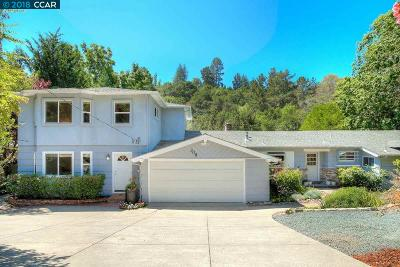 Moraga Single Family Home For Sale: 308 Rheem