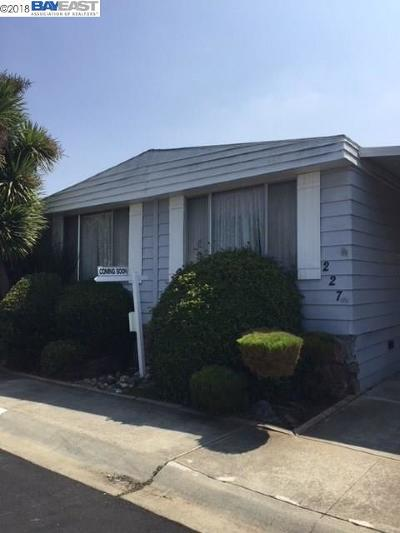 Fremont Mobile Home For Sale: 4141 Deep Creek Rd.