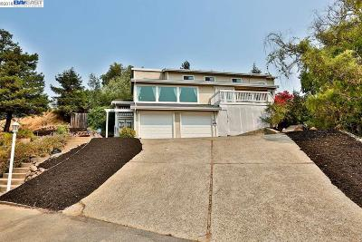 Walnut Creek Single Family Home For Sale: 166 Hillcroft Way