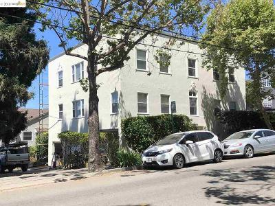 Berkeley Multi Family Home For Sale: 1652 Euclid Ave