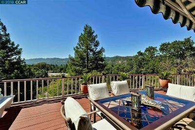 Alamo CA Single Family Home For Sale: $1,595,000