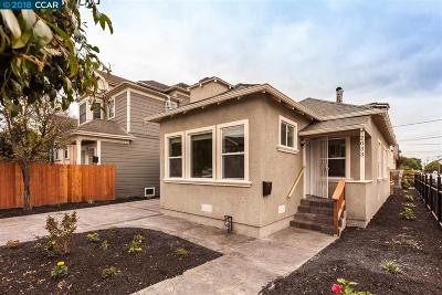 Oakland Single Family Home For Sale: 2033 Myrtle