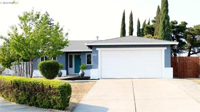 Pittsburg Single Family Home Pending Show For Backups: 3828 Fallbrook Ct
