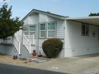 Pleasanton Mobile Home For Sale: 3263 Vineyard Ave #45