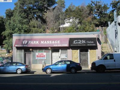 Oakland Commercial For Sale: 2811 Park Blvd
