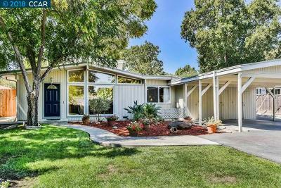 Walnut Creek Single Family Home For Sale: 5 Sally Ln