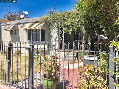 Berkeley Single Family Home For Sale: 1509 Alcatraz Ave