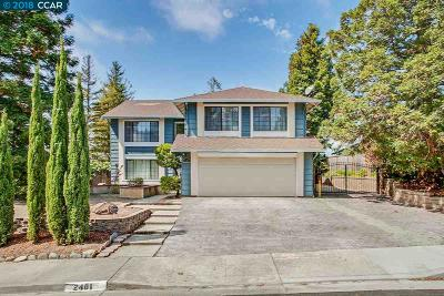 Pinole Single Family Home For Sale: 2401 Hill View Ln