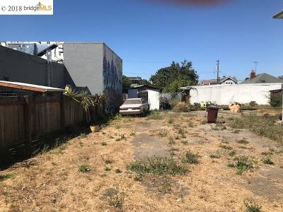Oakland Residential Lots & Land For Sale: 1094 65th Street