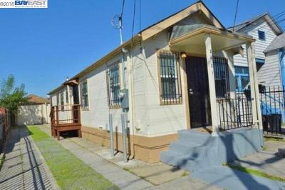 Oakland Single Family Home Price Change: 2621 75th Ave