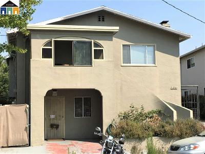 Emeryville Single Family Home For Sale: 1270 62nd Street