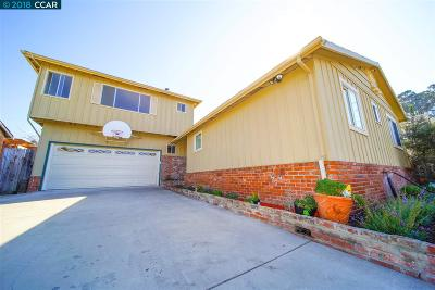 Pinole Single Family Home For Sale: 1769 Lefebvre Way