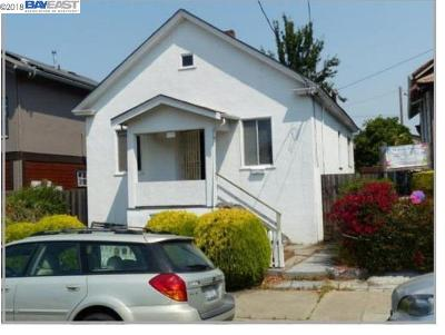 Oakland Single Family Home For Sale: 1170 Ocean Ave