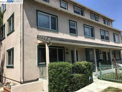 Hayward Condo/Townhouse For Sale: 1320 Mattox Rd
