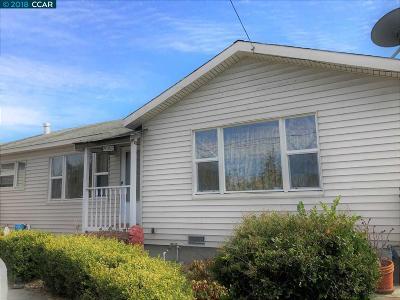 El Sobrante Single Family Home For Sale: 951 Manor Rd
