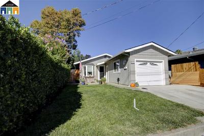 Martinez Single Family Home Price Change: 1033 Vine Ave