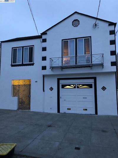 San Francisco Single Family Home For Sale: 1426 Underwood Ave