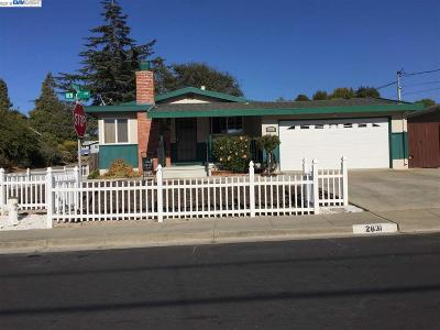 Pinole Single Family Home For Sale: 2631 Henry Ave