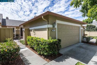 Walnut Creek Condo/Townhouse For Sale: 591 Cabot Ct