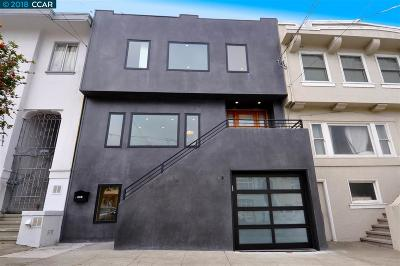 San Francisco Single Family Home For Sale: 591 18th Ave