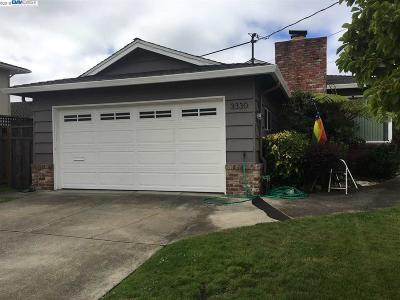 Alameda Single Family Home New: 3330 Constance Cir.