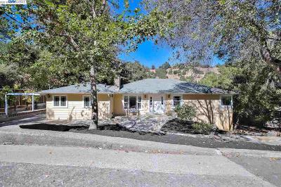 Orinda Single Family Home For Sale: 47 Lost Valley Dr