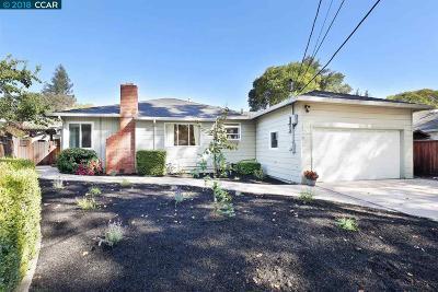 Walnut Creek Single Family Home For Sale: 80 Maple Lane