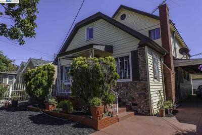 Oakland Single Family Home New: 2738 Parker Avenue