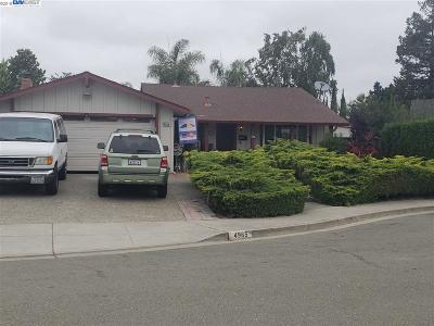Newark CA Single Family Home New: $1,098,000