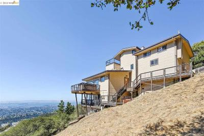 Oakland Single Family Home Pending: 5951 Grizzly Peak Blvd