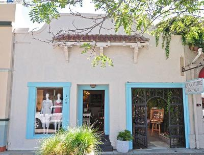 Fremont, Pleasanton, Concord, Walnut Creek Commercial For Sale: 706 Main St