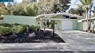 Walnut Creek Single Family Home New: 2641 San Carlos Dr
