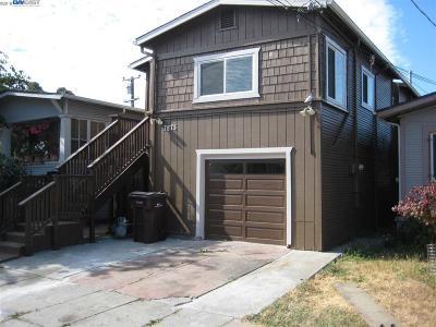 Oakland Single Family Home New: 7875 Garfield Avenue