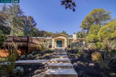 Walnut Creek Single Family Home For Sale: 275 Shady Glen Rd