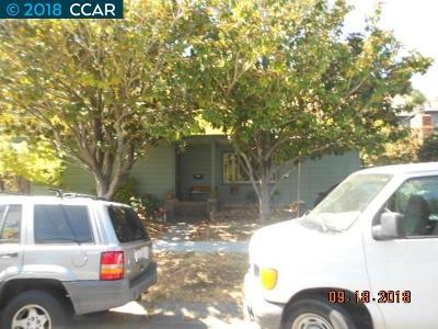 Marin County Single Family Home Active-Reo: 383 Irwin St