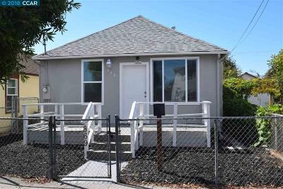 Richmond Single Family Home For Sale: 869 8th St