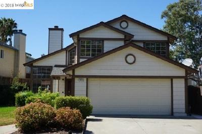 Antioch Single Family Home Back On Market: 2836 Honeysuckle Cir