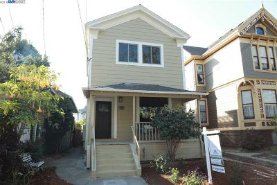 Alameda Single Family Home For Sale: 1183 Park Ave
