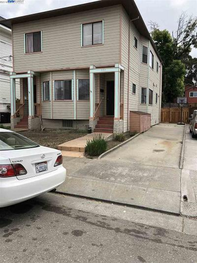 Oakland Multi Family Home For Sale: 995 54th St