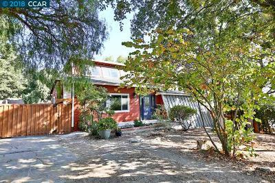 Martinez Single Family Home For Sale: 145 Hillside Lane