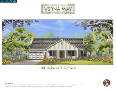 Clayton Single Family Home For Sale: 3 White Diamond Lane