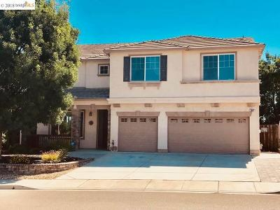 Antioch Single Family Home Price Change: 3557 Lovebird