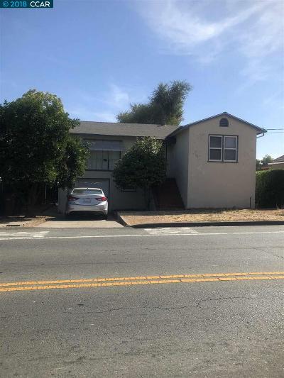 Martinez Single Family Home For Sale: 42 Morello Ave