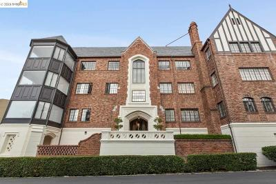 Oakland Condo/Townhouse For Sale: 5301 Broadway Terrace #10